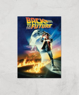 Back To The Future Part 1 Giclee Art Print - A4 - Print Only chez Casa Décoration