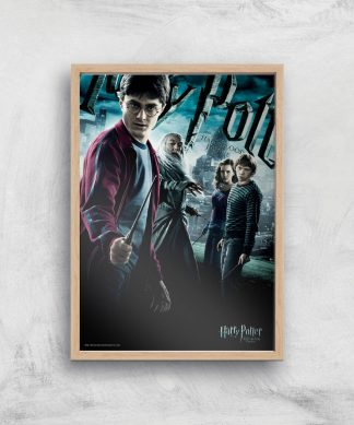 Harry Potter and the Half-Blood Prince Giclee Art Print - A4 - Wooden Frame chez Casa Décoration