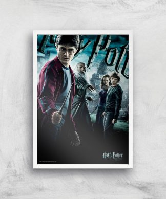 Harry Potter and the Half-Blood Prince Giclee Art Print - A4 - White Frame chez Casa Décoration