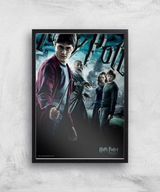 Harry Potter and the Half-Blood Prince Giclee Art Print - A4 - Black Frame chez Casa Décoration