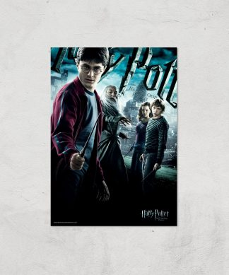 Harry Potter and the Half-Blood Prince Giclee Art Print - A3 - Print Only chez Casa Décoration