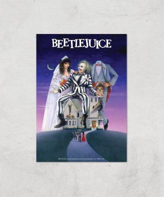 Beetlejuice Giclee Art Print - A2 - Print Only chez Casa Décoration