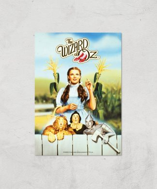 The Wizard Of Oz Giclee Art Print - A4 - Print Only chez Casa Décoration
