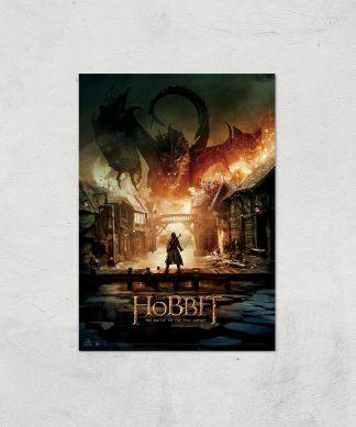 The Hobbit: Battle Of The Five Armies Giclee Art Print - A4 - Print Only chez Casa Décoration