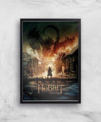The Hobbit: Battle Of The Five Armies Giclee Art Print - A4 - Black Frame chez Casa Décoration