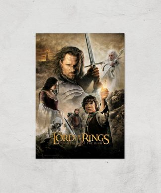 Lord Of The Rings: The Return Of The King Giclee Art Print - A3 - Print Only chez Casa Décoration