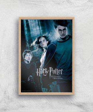 Harry Potter and the Prisoner Of Azkaban Giclee Art Print - A4 - Wooden Frame chez Casa Décoration