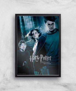 Harry Potter and the Prisoner Of Azkaban Giclee Art Print - A4 - Black Frame chez Casa Décoration