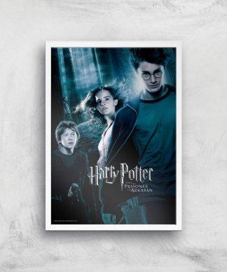 Harry Potter and the Prisoner Of Azkaban Giclee Art Print - A3 - White Frame chez Casa Décoration