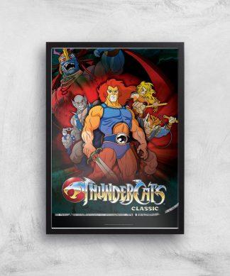 Thundercats Giclee Art Print - A2 - Black Frame chez Casa Décoration