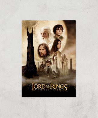 Lord Of The Rings: The Two Towers Giclee Art Print - A2 - Print Only chez Casa Décoration