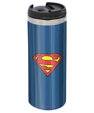 Superman Stainless Steel Thermo Travel Mug chez Casa Décoration