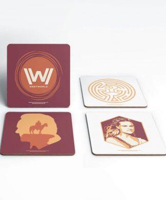 Westworld Experience Westworld Coaster Set chez Casa Décoration