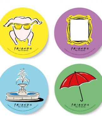 Friends Icons Coaster Set chez Casa Décoration
