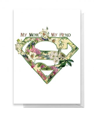 Superman Mother's Day Greetings Card - Large Card chez Casa Décoration