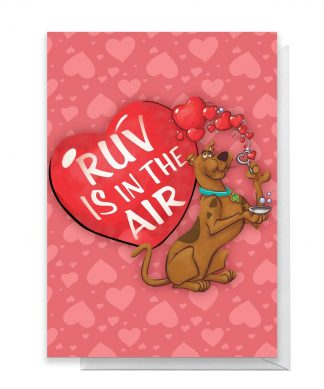 Scooby Doo Valentines Ruv Greetings Card - Standard Card chez Casa Décoration