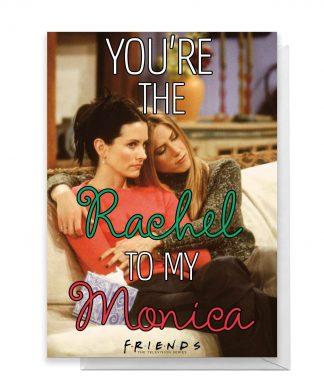 Friends Rachel To My Monica Greetings Card - Large Card chez Casa Décoration
