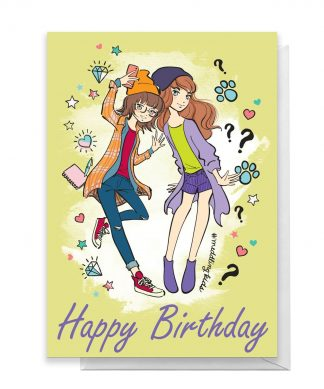 Scooby Doo 10th Birthday Girls Greetings Card - Standard Card chez Casa Décoration