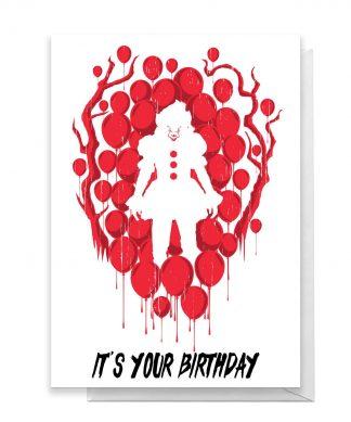 IT Happy Birthday Greetings Card - Standard Card chez Casa Décoration