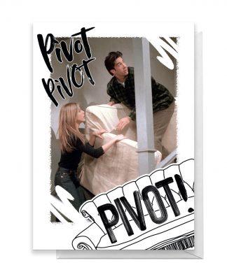 Friends PIVOT! Greetings Card - Standard Card chez Casa Décoration