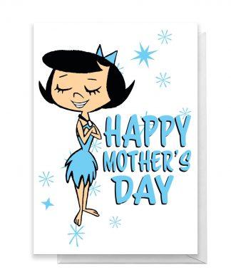 Flintstones Happy Mother's Day Greetings Card - Standard Card chez Casa Décoration