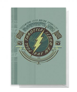 The Flash Father's Day Greetings Card - Standard Card chez Casa Décoration