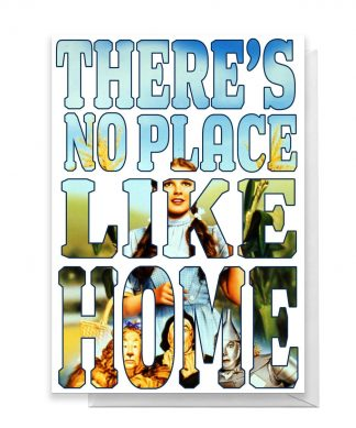 Wizard Of Oz New Home Greetings Card - Large Card chez Casa Décoration