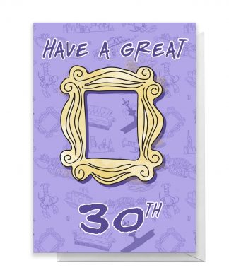 Friends Birthday 30th Greetings Card - Giant Card chez Casa Décoration