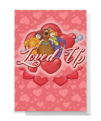 Scooby Doo Valentines Loved Up Greetings Card - Large Card chez Casa Décoration