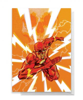 The Flash Greetings Card - Large Card chez Casa Décoration