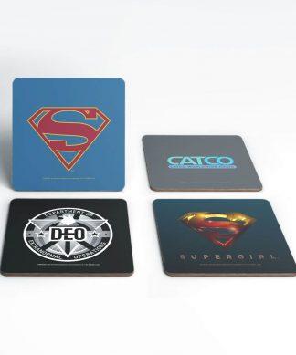DC Supergirl TV Coaster Set chez Casa Décoration