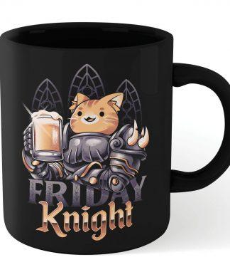 Ilustrata Friday Knight Mug - Black chez Casa Décoration