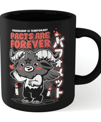Ilustrata Pacts Are Forever Mug - Black chez Casa Décoration