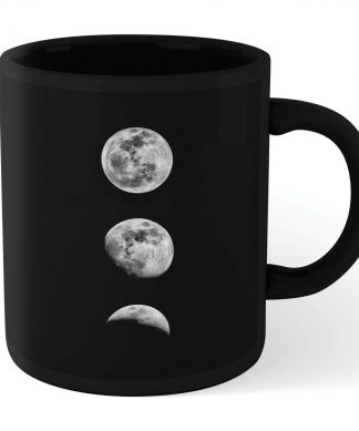 The Motivated Type 3 Moons Mug - Black chez Casa Décoration
