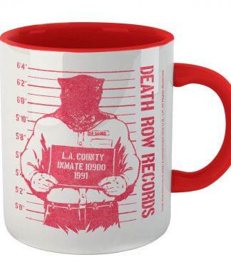 Tasse Death Row Records Shot - Blanc/Rouge chez Casa Décoration
