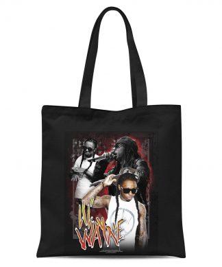 Tote Bag Lil Wayne - Noir chez Casa Décoration