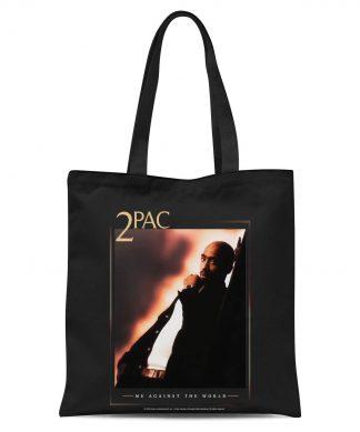 Tote Bag Tupac Me Against The World - Noir chez Casa Décoration
