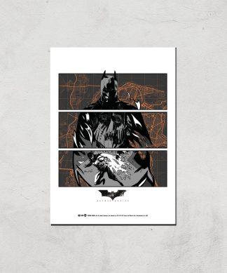 Batman Begins Poster Giclee Art Print - A4 - Print Only chez Casa Décoration