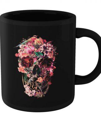 Ikiiki Bird Skull Mug - Black chez Casa Décoration