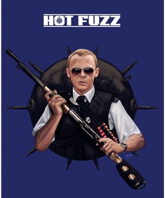 Affiche Édition Limitée Record Breaking - Hot Fuzz chez Casa Décoration