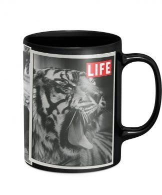LIFE Magazine Animal Tabloid Mug - Black chez Casa Décoration