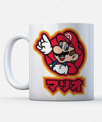 Tasse Nintendo Kanji Mario - Super Mario chez Casa Décoration
