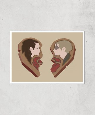 Sea Of Thieves Valentines Heart Art Print Giclee Art Print - A3 - Print Only chez Casa Décoration