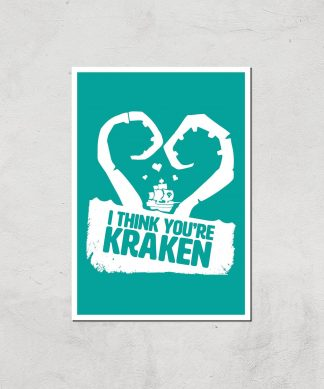Sea Of Thieves I Think You're Kraken Print Giclee Art Print - A2 - Print Only chez Casa Décoration