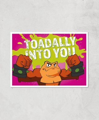Battletoads Toadally Into You Art Print Giclee Art Print - A3 - Print Only chez Casa Décoration