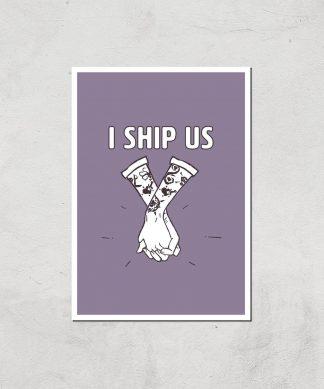 Sea Of Thieves I Ship Us Art Print Giclee Art Print - A4 - Print Only chez Casa Décoration
