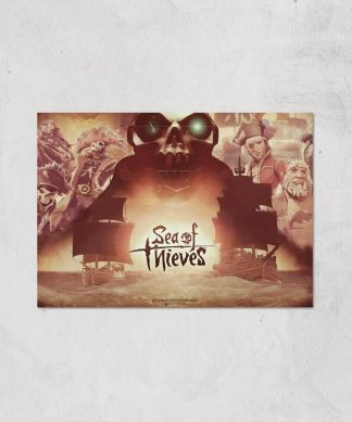 Sea Of Thieves 2nd Anniversary Giclee Art Print - A3 - Print Only chez Casa Décoration