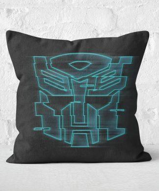 Coussin Transformers Autobot - 60x60cm - Soft Touch chez Casa Décoration