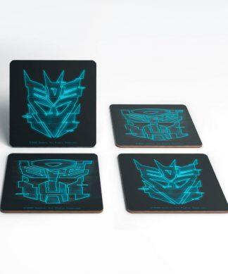 Dessous de verres Transformers Glitch chez Casa Décoration