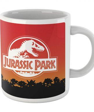 Jurassic Park Sunset Logo Mug chez Casa Décoration